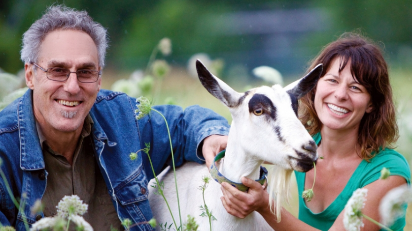 Woody Tasch and Taber Ward of Boulder's Mountain Flower Goat Dairy