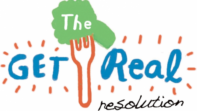 The Get Real Resolution Logo