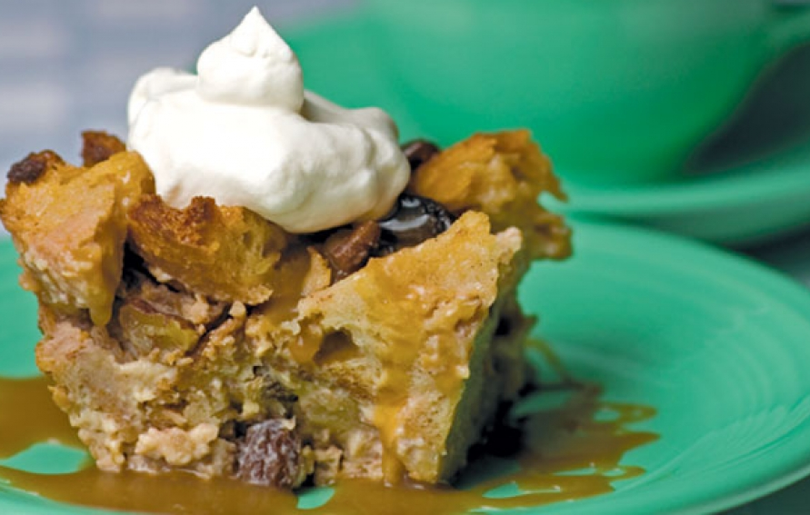 Rumchata bread pudding with fireball whiskey sauce edible kansas city rumchata bread pudding with fireball whiskey sauce forumfinder Images